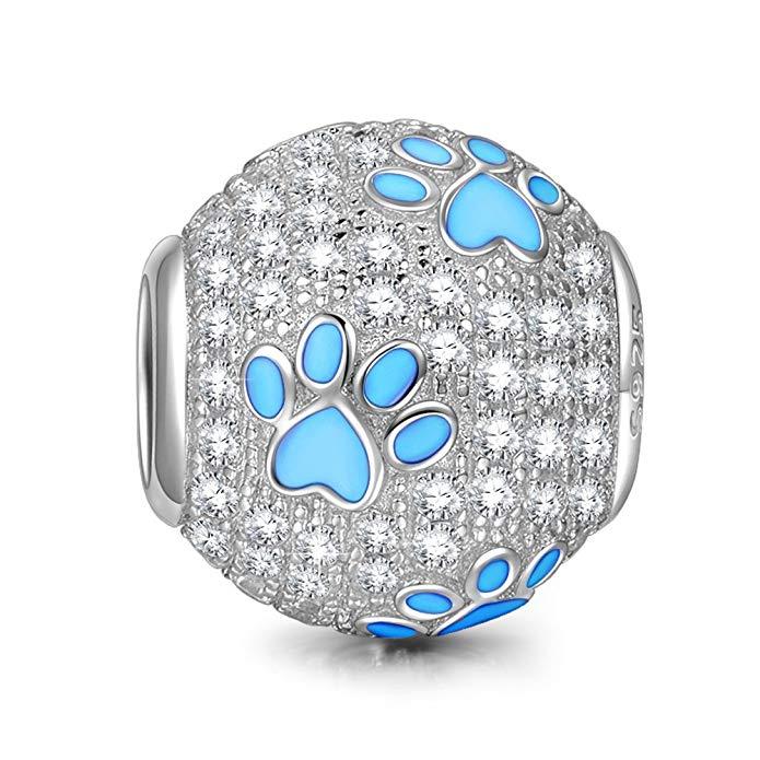 Dog Paw Bead