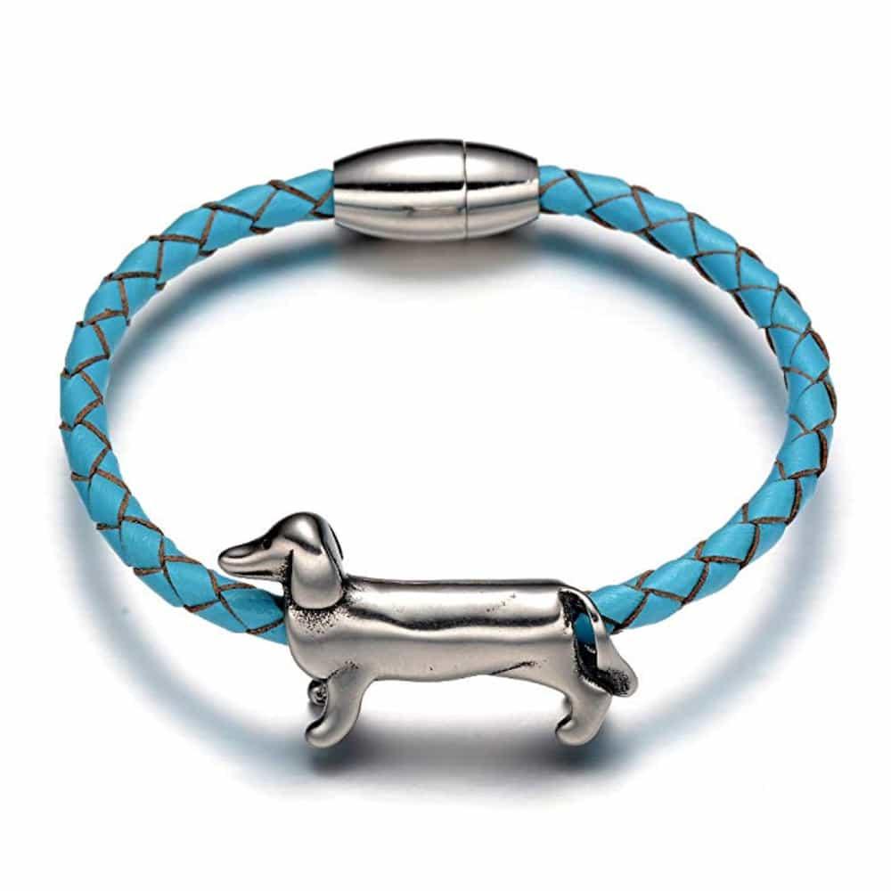 Blue Braided Bracelet