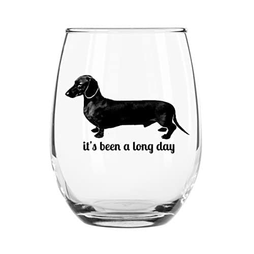 Dachshund Glass