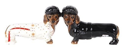 King of Rock & Roll Doxies Salt and Pepper