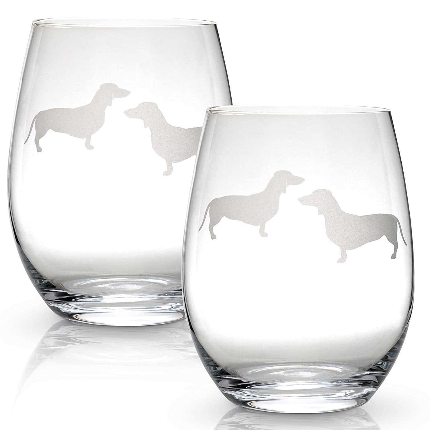 Dachshund Wine Glasses