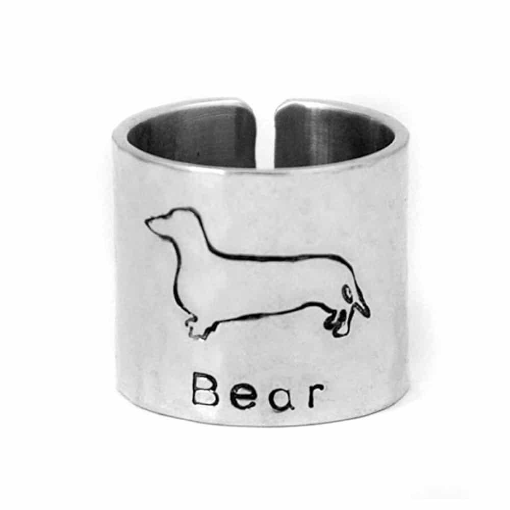 Custom Dachshund Ring