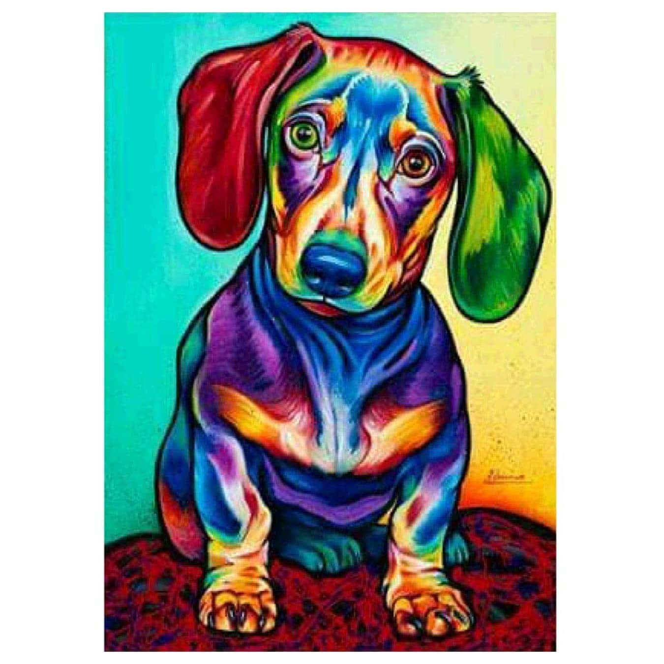 Dachshund Paint Kit