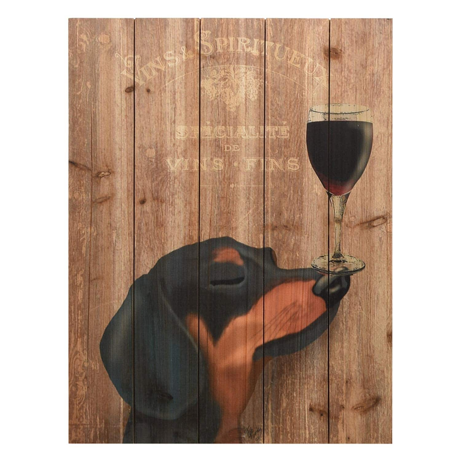 Dachshund Wooden Sign
