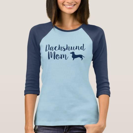Ladies Wiener Dog Shirt