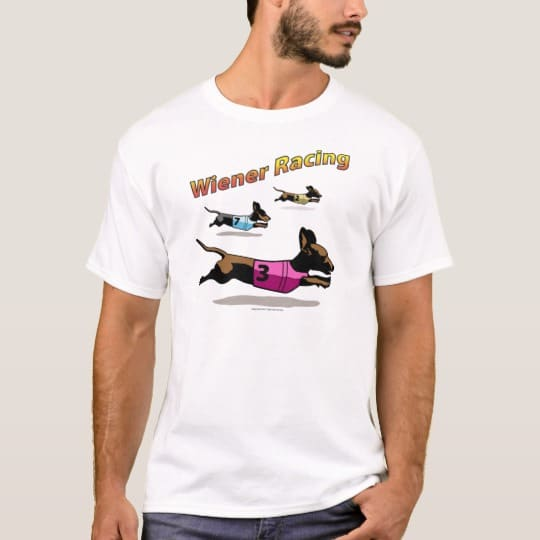 Wiener Dog Racing Shirt