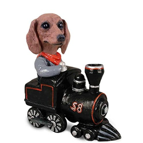 Dachshund Red Train