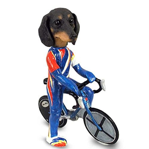 Dachshund Black Bicycle
