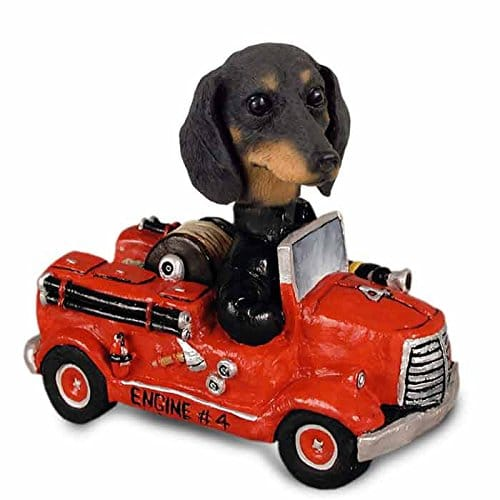 Dachshund Black Fire Engine